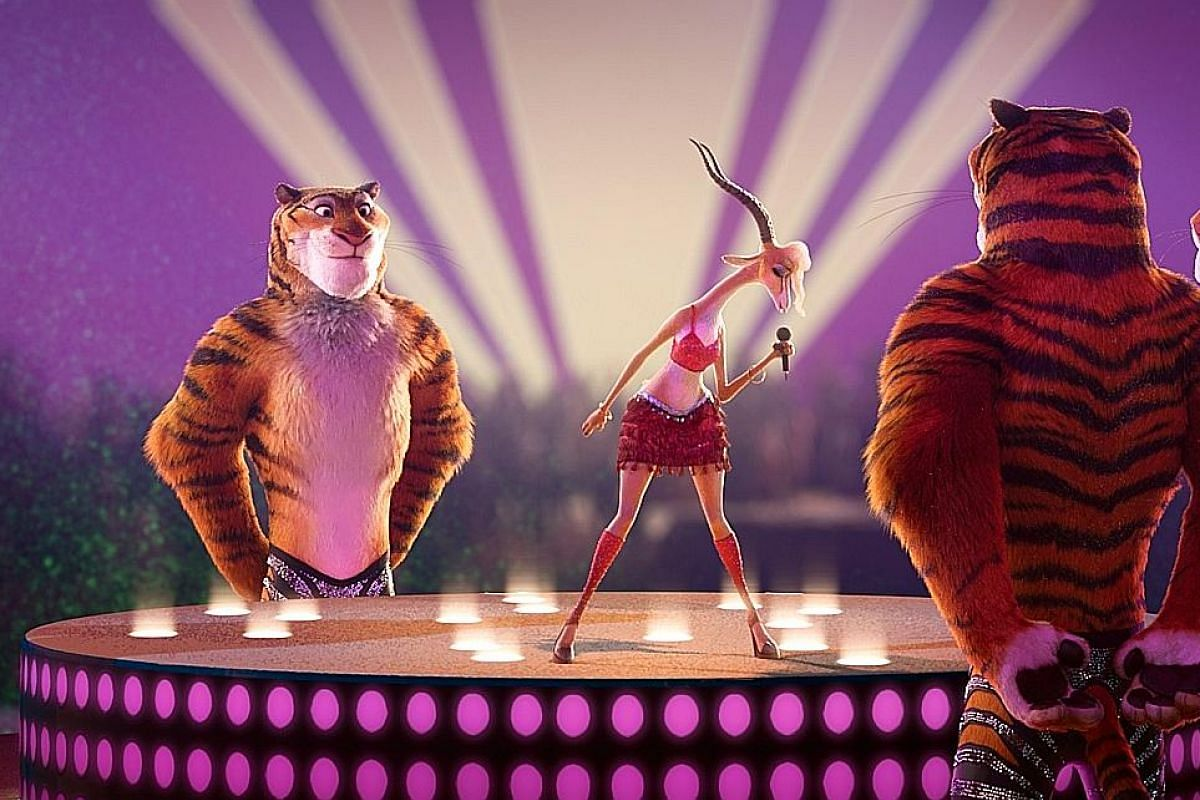 """Gazelle, voiced by Shakira, was made curvier after the pop star said her character """"needs some hips""""."""