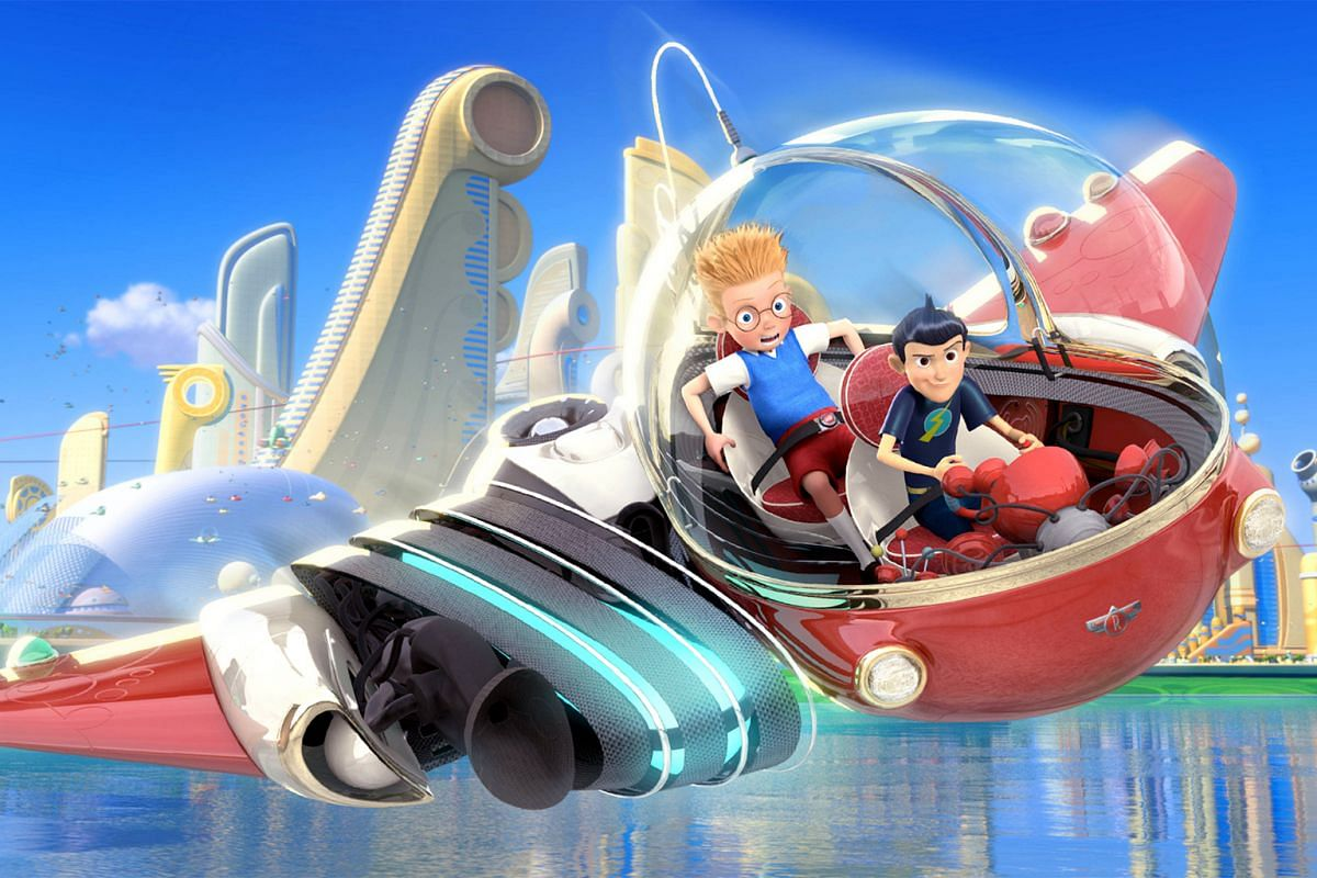 To box-office bombs...: Meet The Robinsons (2007)