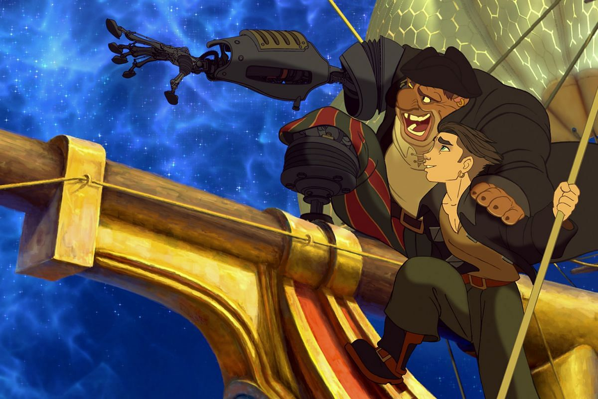 To box-office bombs...: Treasure Planet (2002)