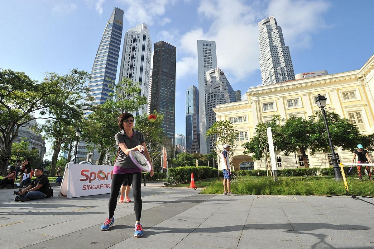 The first Car-free Sunday SG on Sunday (Feb 28) saw roads in the Civic District and parts of the Central Business District closed off to cars.
