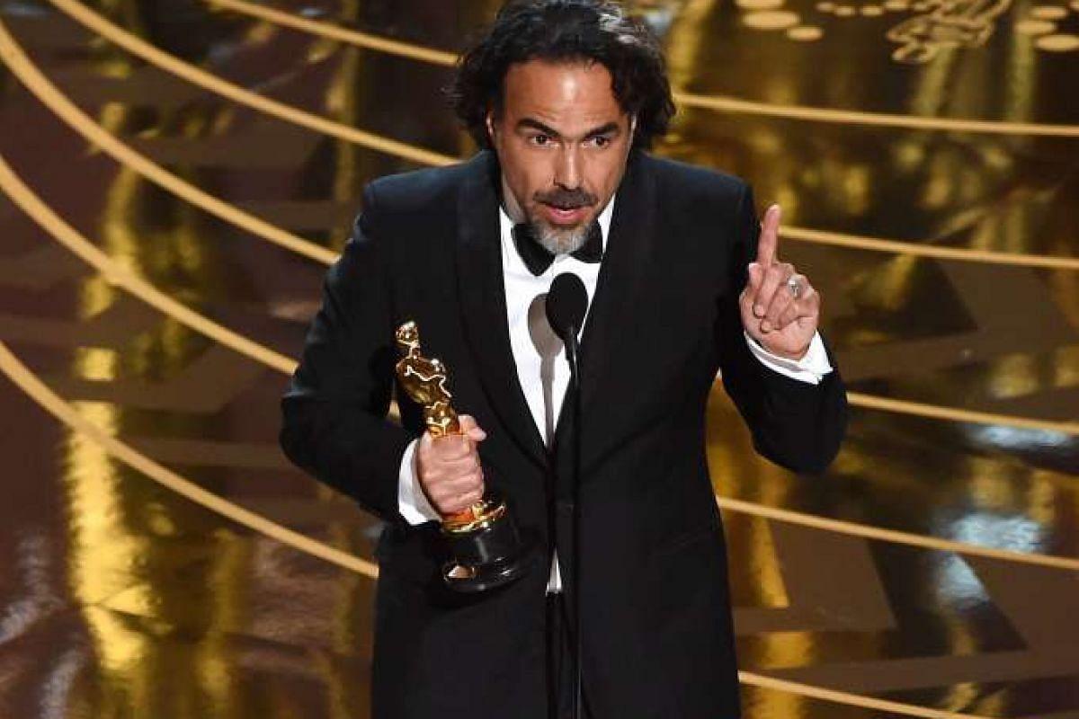 Best Director Alejandro Gonzalez Inarritu.