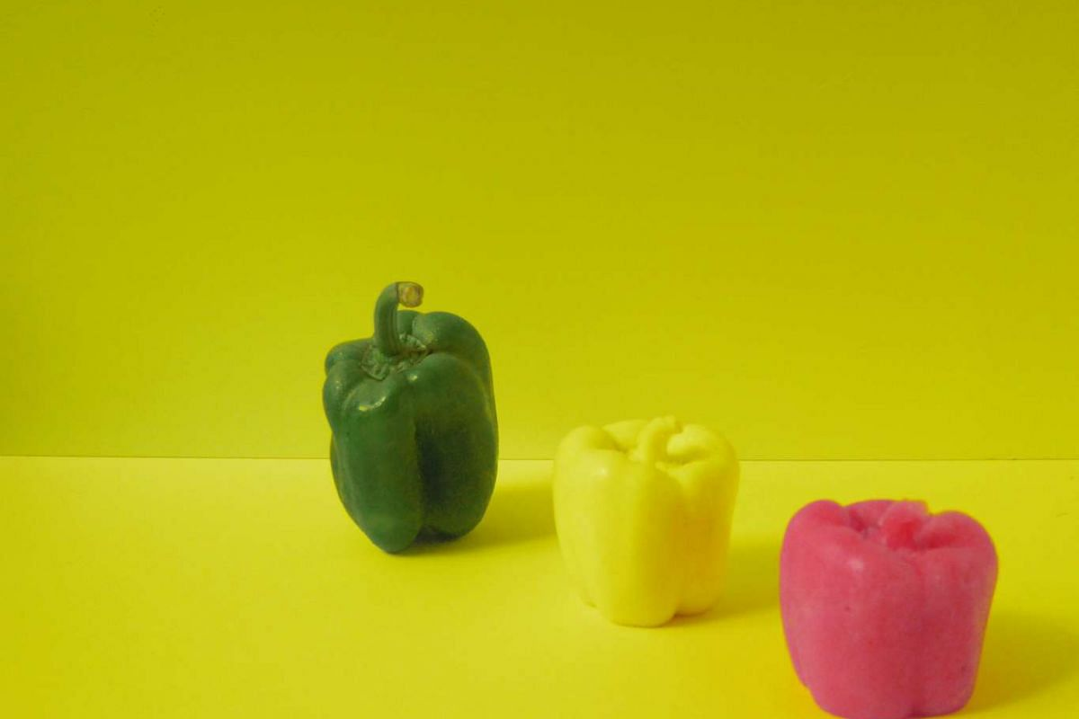 Eat Your Vegetables, one of the installations at Singaplural design event.