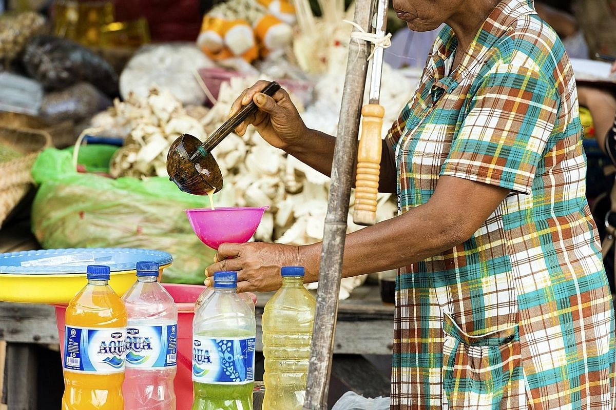 Avoid drinks sold by street vendors in some developing countries.