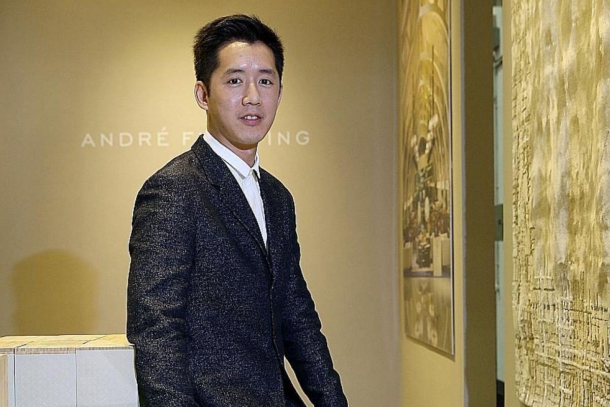 Interior designer Andre Fu (above) was named Designer of the Year at this year's four-day Maison&Objet Asia, which concluded yesterday.