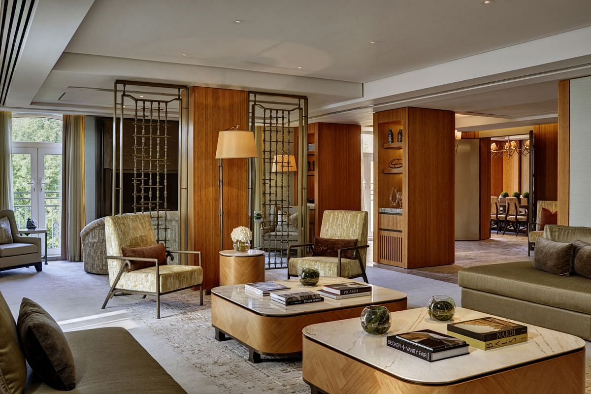THE OPUS SUITE AT THE BERKELEY, LONDON