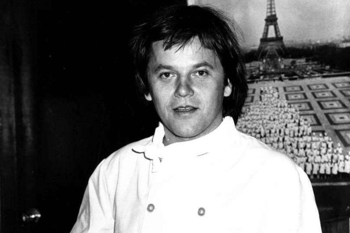 My life so far: Wolfgang Puck, aged 15, in Austria; and at Ma Maison in the late 1970s (above).