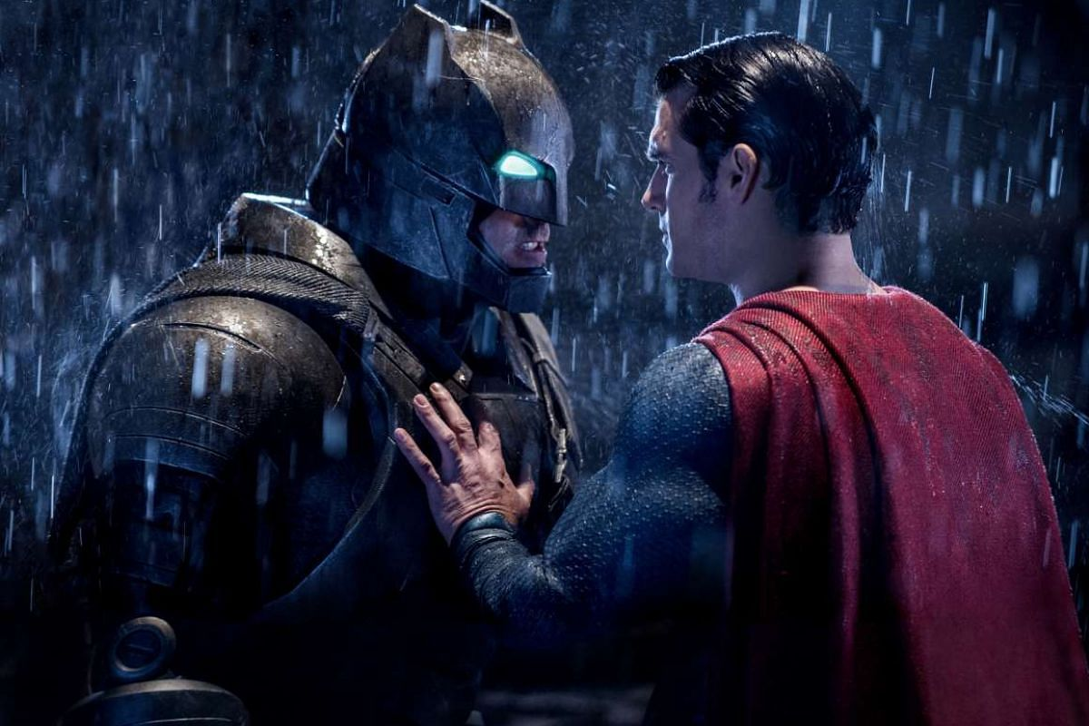 Playing Batman in Batman V Superman: Dawn Of Justice (above, with Henry Cavill as Superman), Ben Affleck admits he went through moments of self-doubt that he could pull off the role.