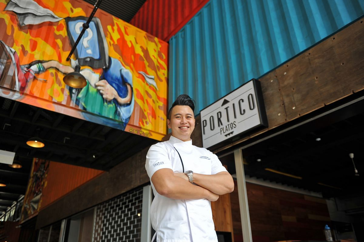 The eateries that are opening outlets include Portico Platos with tapas and paella by chef Nixon Low (above) and The World Is Flat by Tanuki Raw with pizzas from owner Howard Lo and chef Wing Lam.