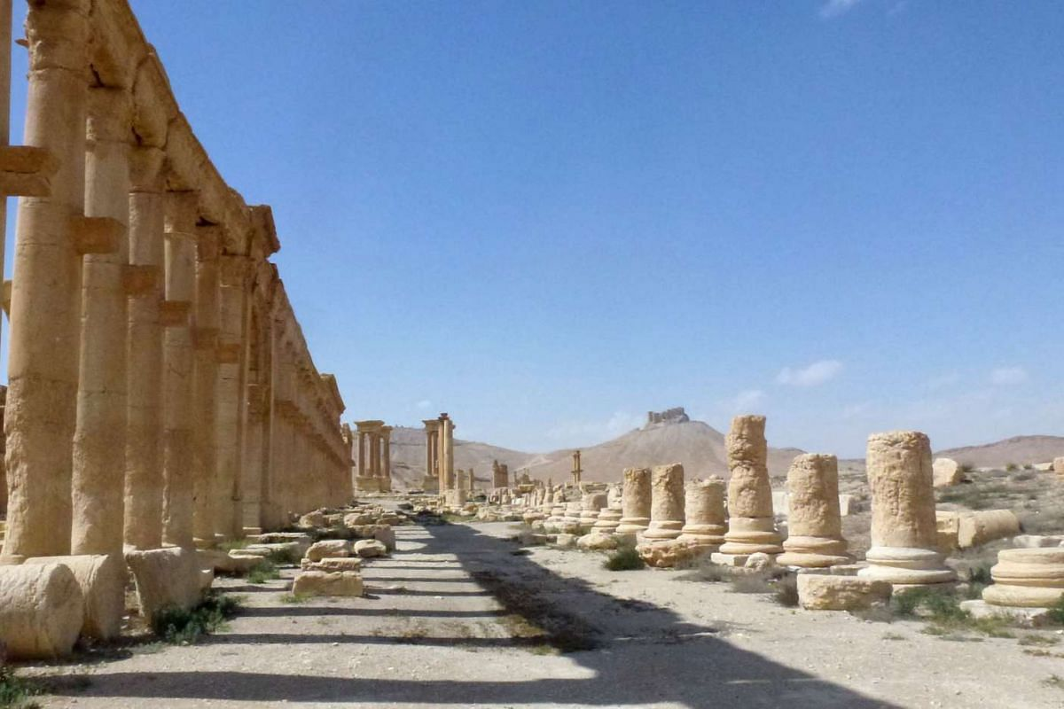 The ancient city of Palmyra, after government troops recaptured the Unesco world heritage site from ISIS on March 27, 2016.
