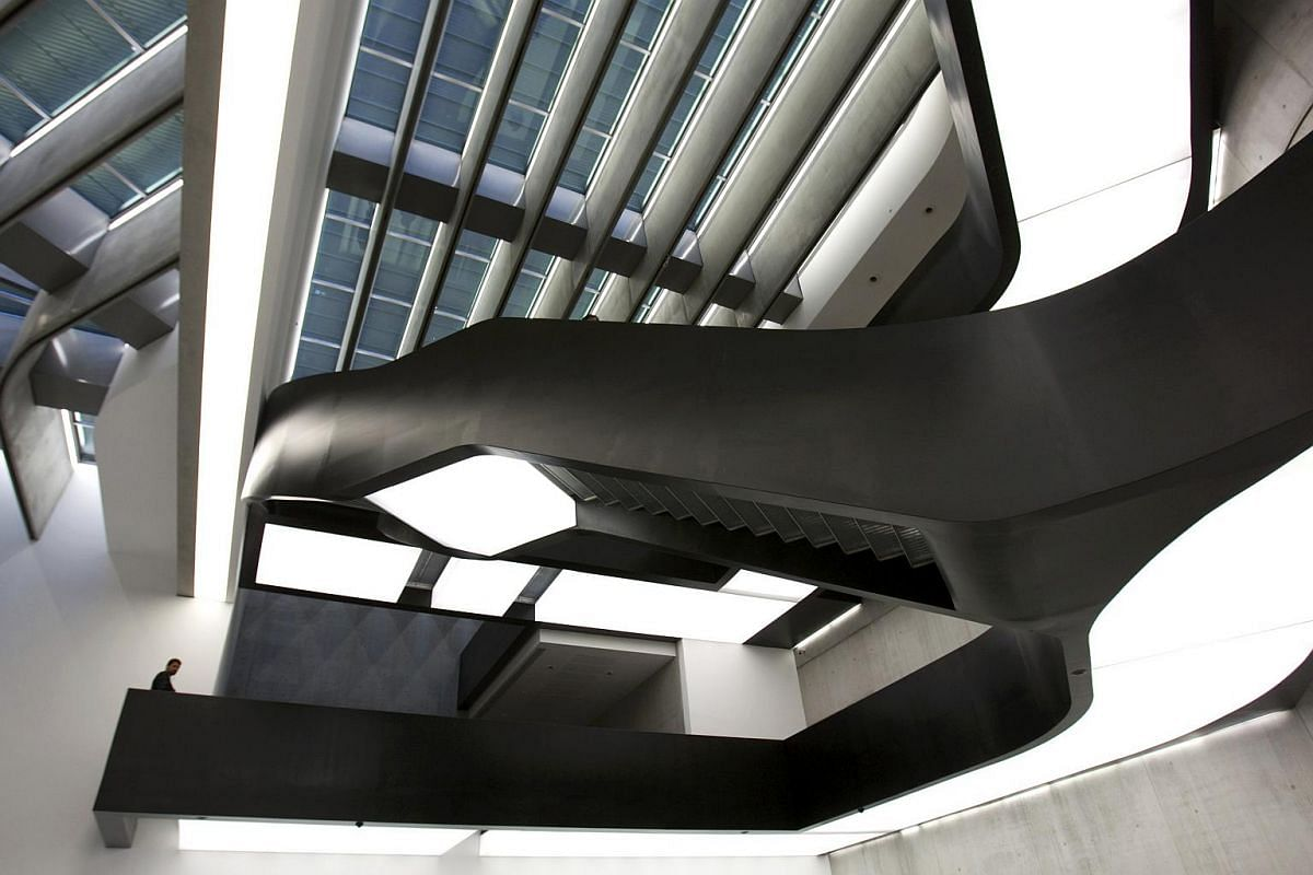 The Maxxi museum of contemporary art and architecture in Rome in 2009.