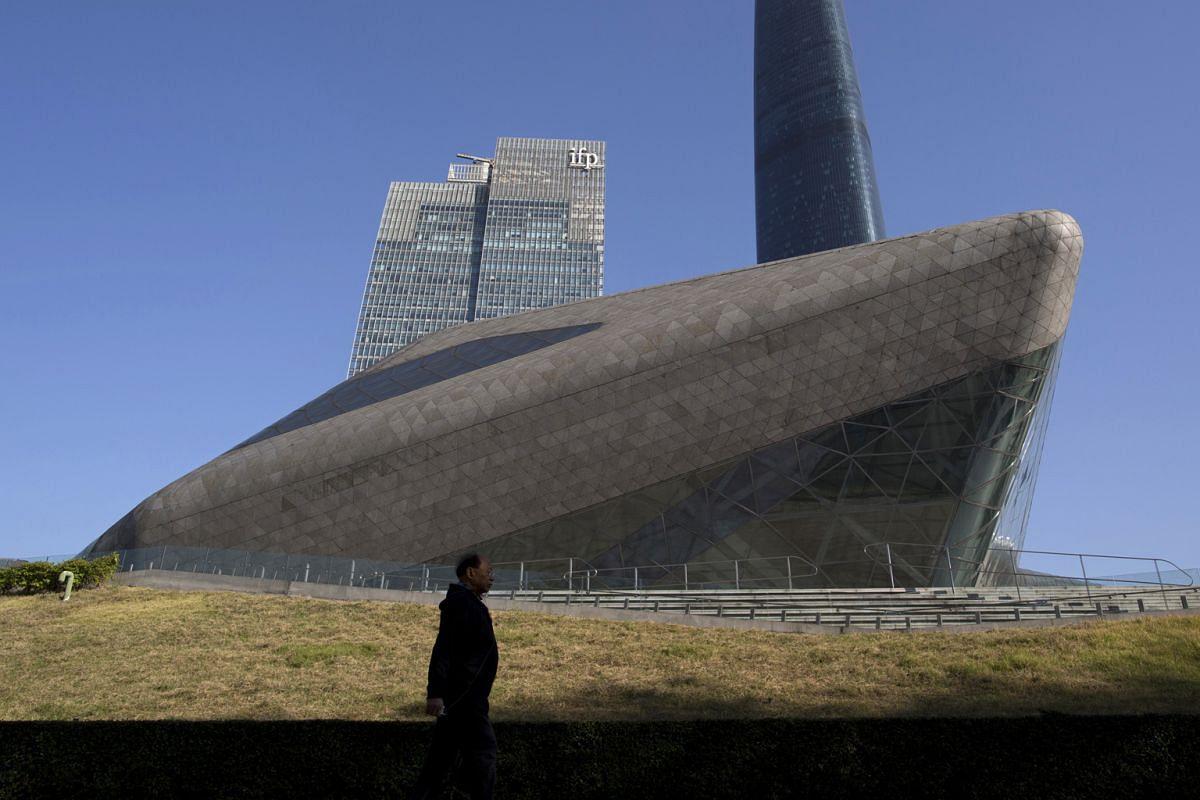 Hadid's projects include: Guangzhou Opera House in Guangzhou, China.