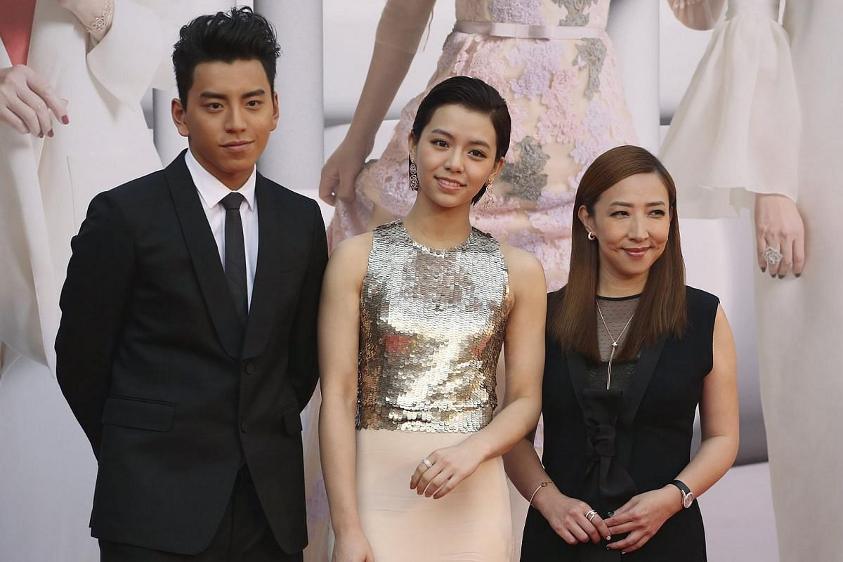 From left: Taiwanese actor Darren Wang, actress Vivian Sung and director Frankie Chen.