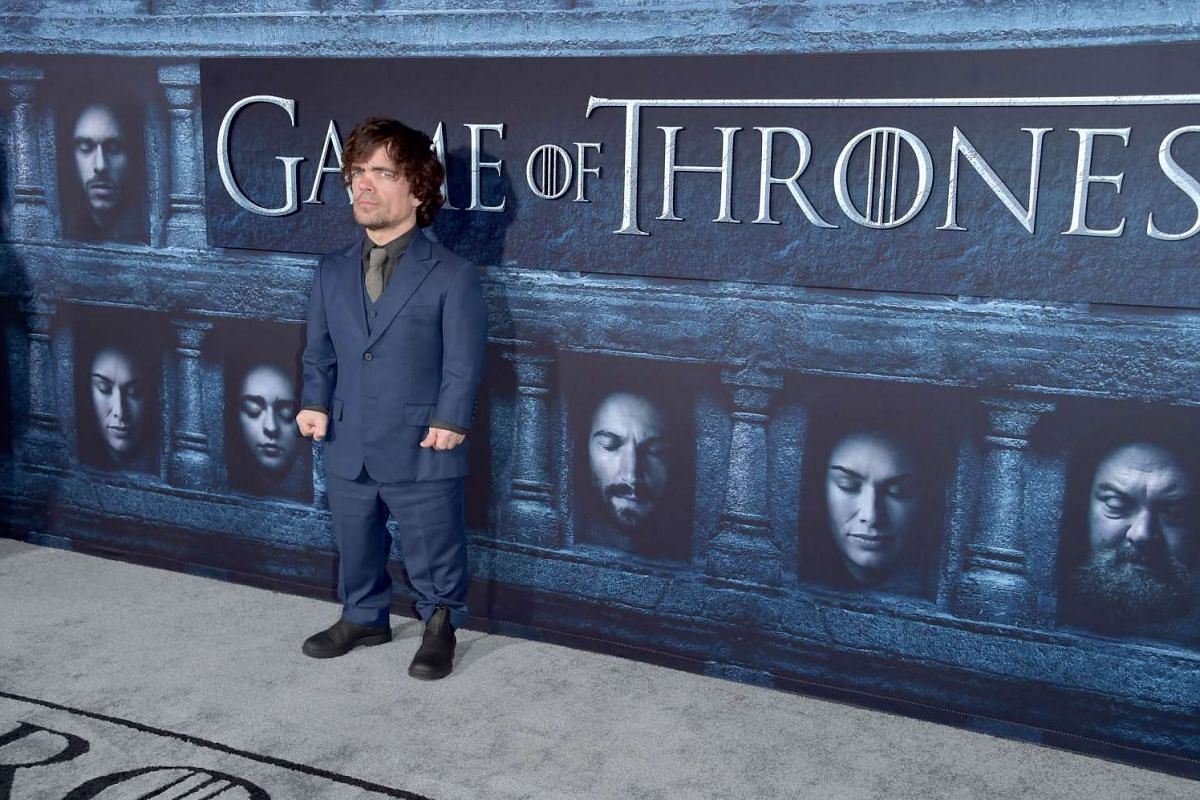 Peter Dinklage attends the premiere of HBO's Game Of Thrones Season 6 at TCL Chinese Theatre on April 10, 2016 in Hollywood, California.