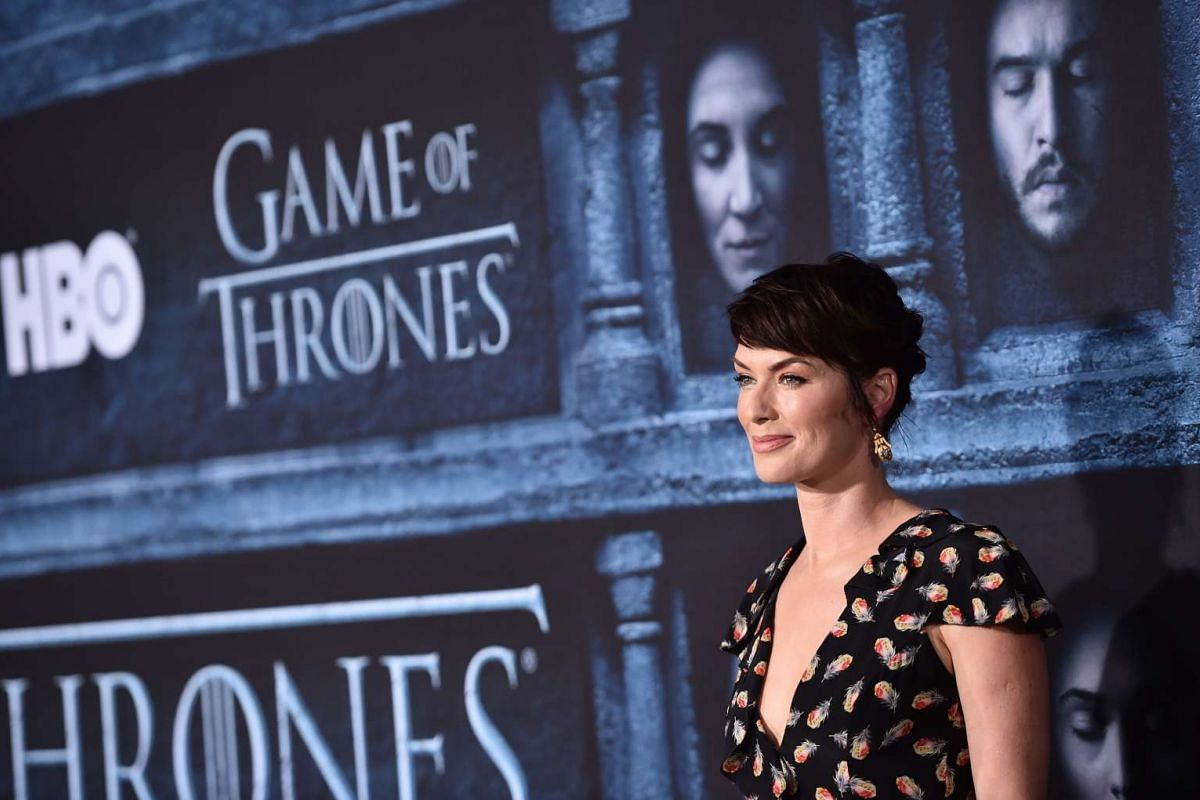 Lena Headey attends the premiere of HBO's Game Of Thrones Season 6 at TCL Chinese Theatre on April 10, 2016 in Hollywood, California.