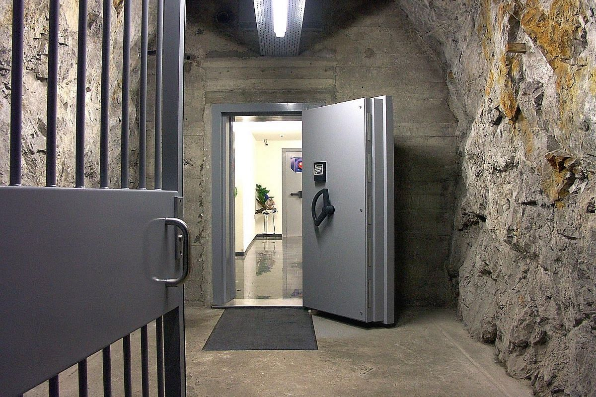 Hotel La Claustra is located in a former Swiss army bunker along the St Gotthard Pass connecting northern and southern Switzerland. Its exterior is unassuming apart from its red door, but beneath its ground floor is a 5,000 sq m hotel space complete
