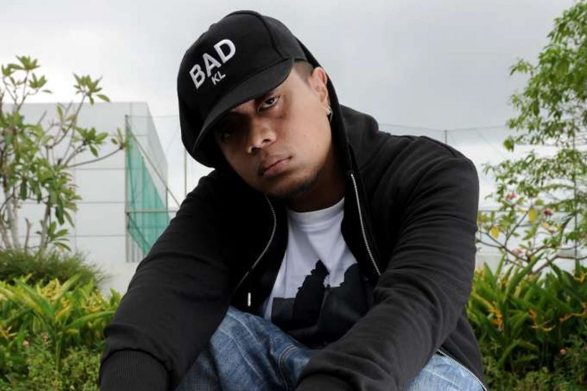 Singapore rapper Akeem Jahat (above) is a rising name in the underground Malay hip-hop scene here and in Malaysia.