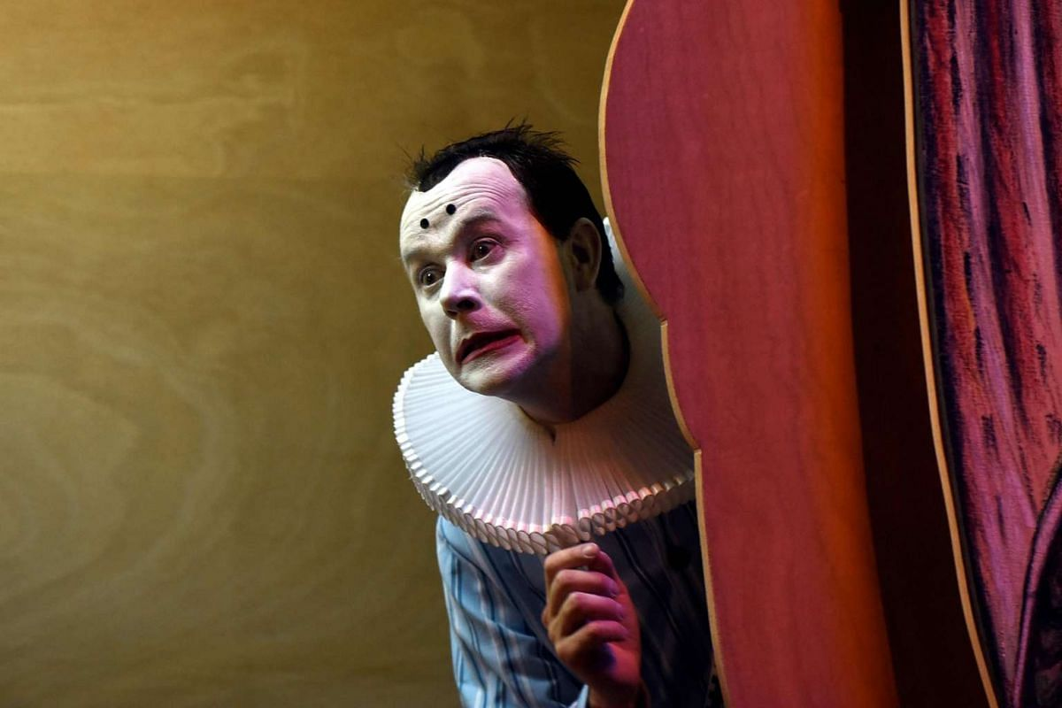 Jean Lambert-wild (above) will transform into a clown in the performance piece Le Clown des Marais from May 20 to 22.