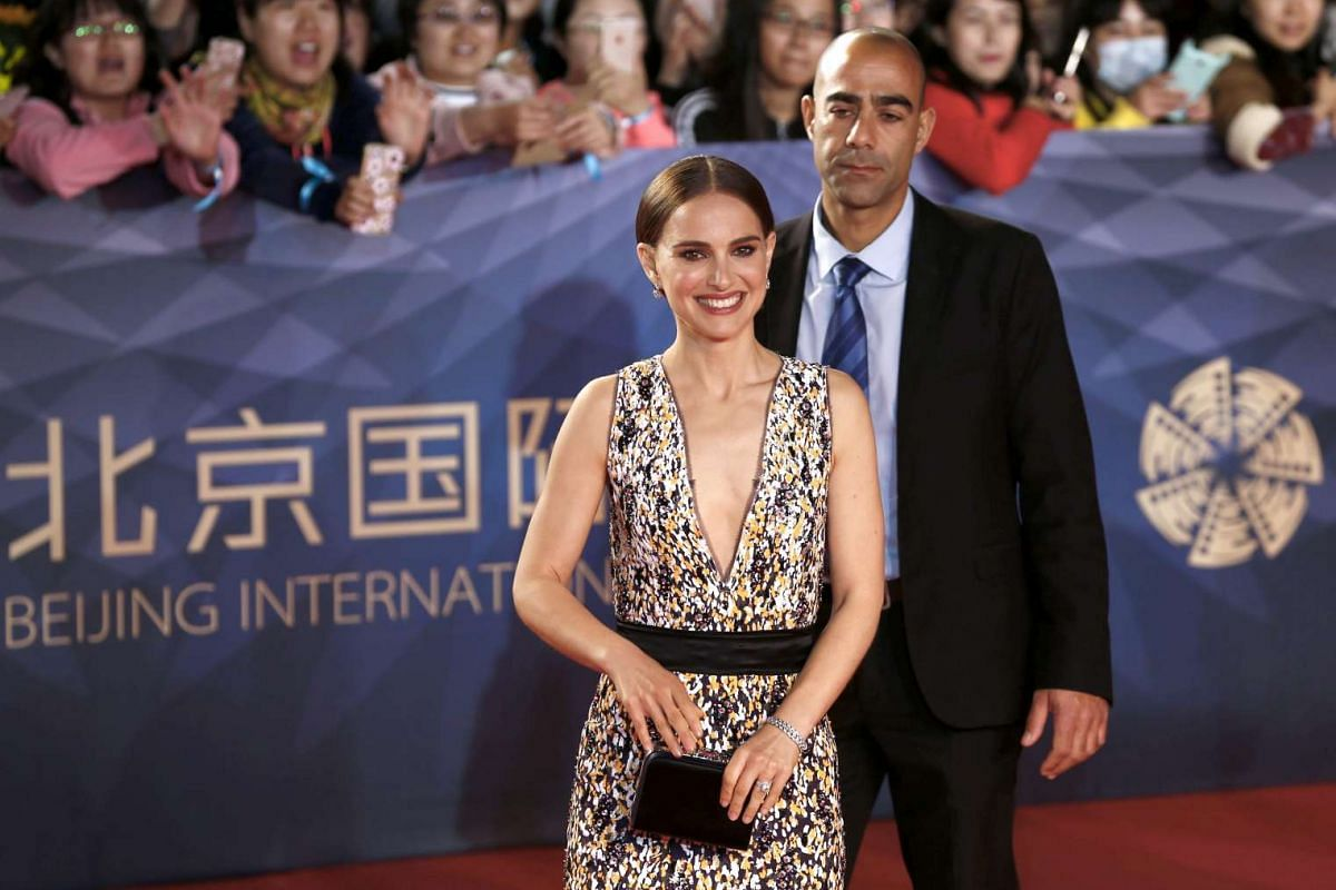 US actress Natalie Portman arrives for the opening ceremony of the Beijing International Film Festival in China, on April 16, 2016.