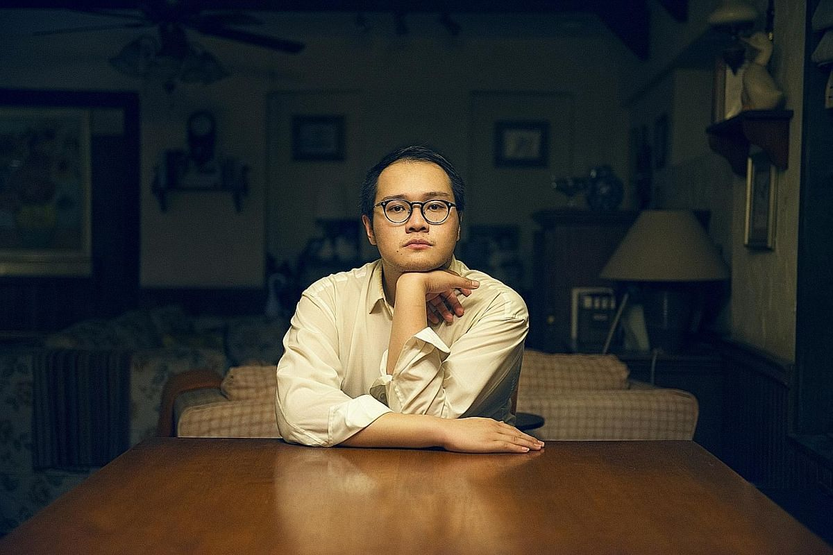 Cafe by playwright Joel Tan (above) is one of the full- length plays for The Twenty- Something Theatre Festival.