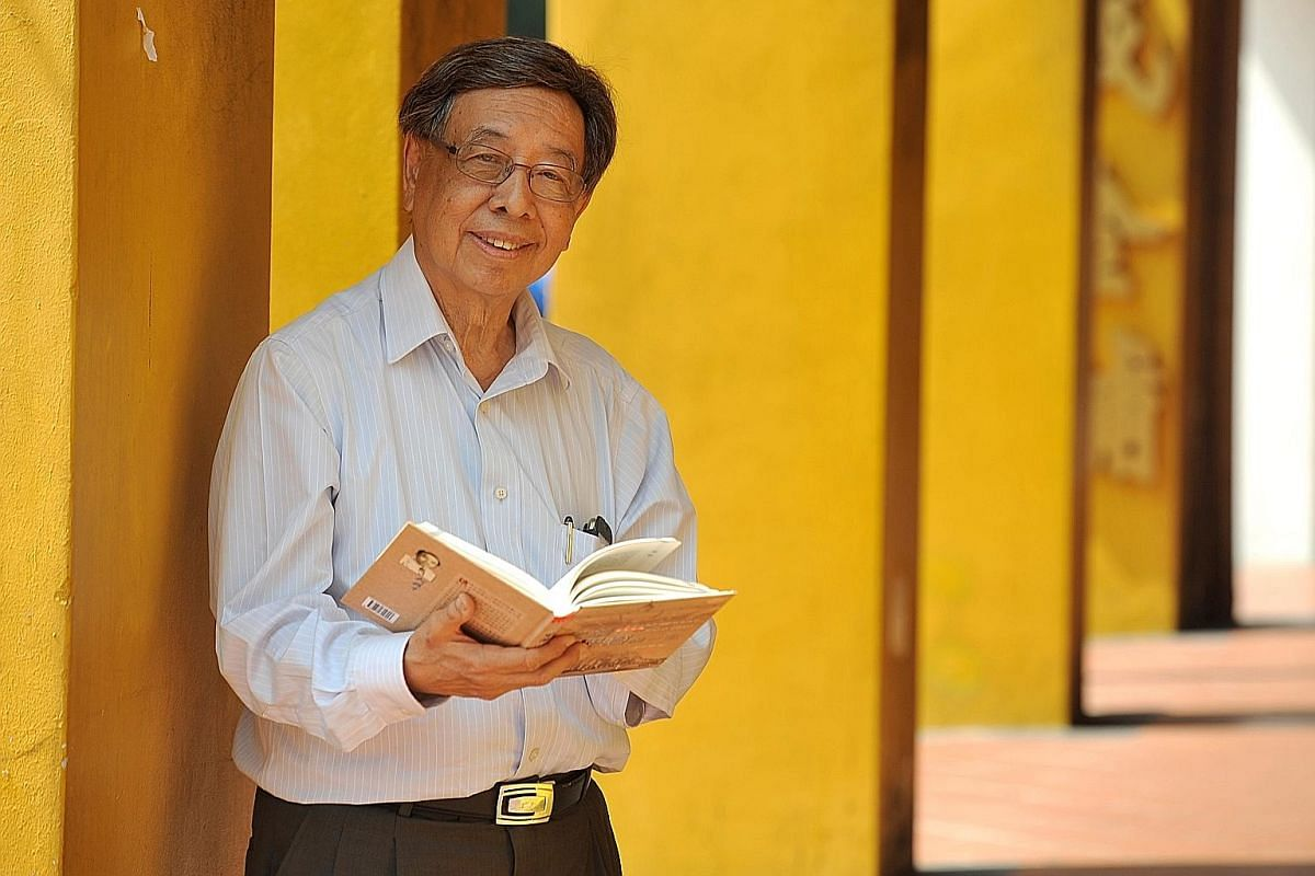 Dr Ho Nai Kiong will talk about growing up in Chinatown.