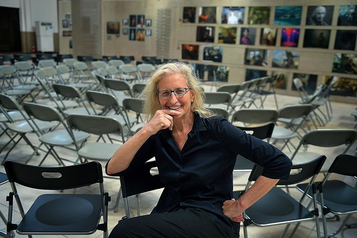 Photographer Annie Leibovitz's exhibition at Tanjong Pagar Railway Station features iconic individuals and also starts conversations about the issues women face today.