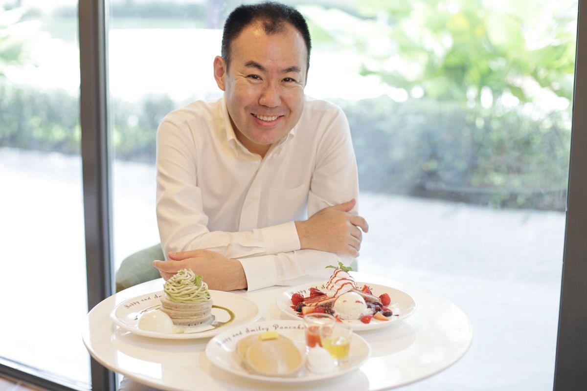 Mr Koji Muraoka opened Kyushu Pancake Cafe because he loves pancakes.