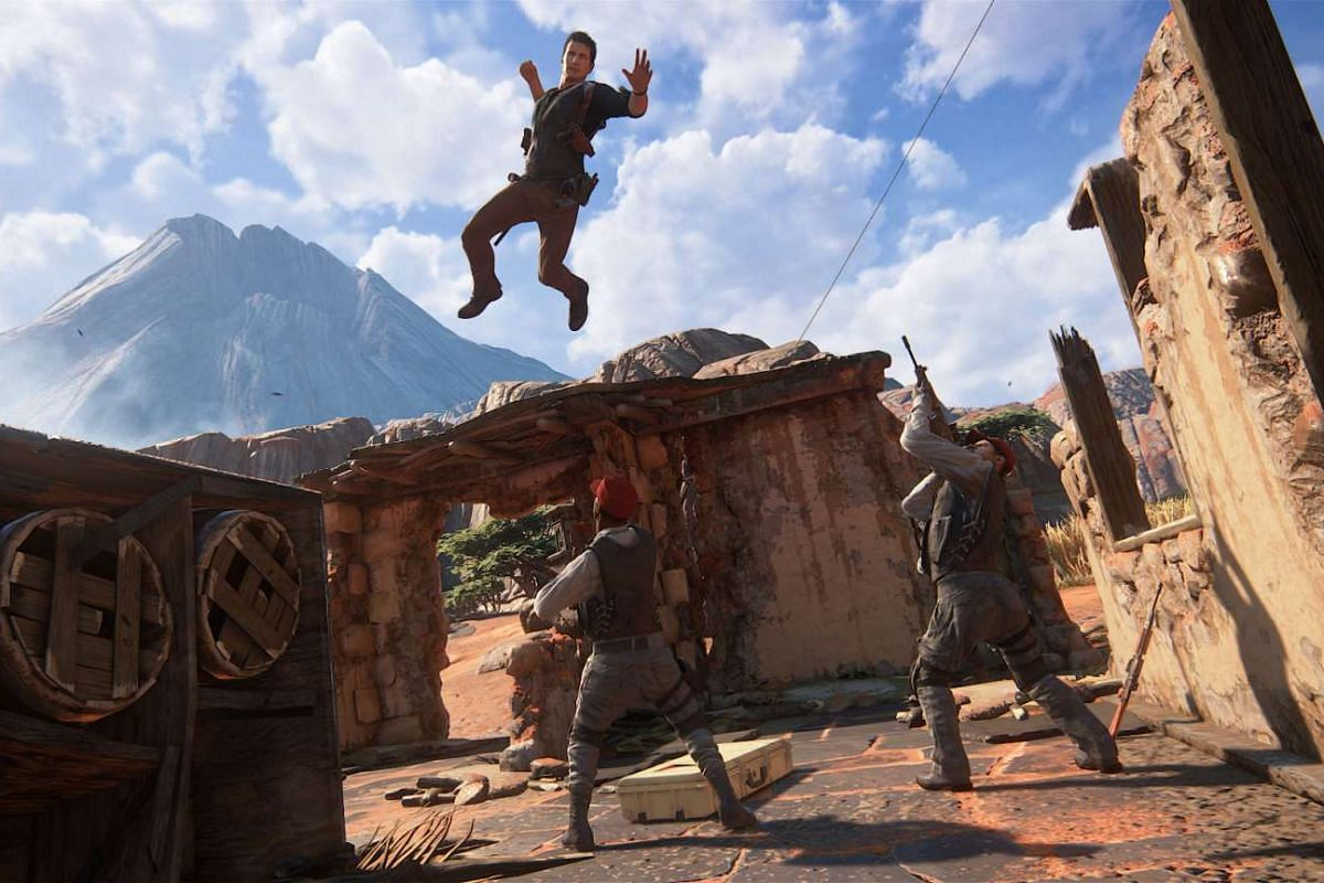 Uncharted 4: A Thief's End is launching on May 10.