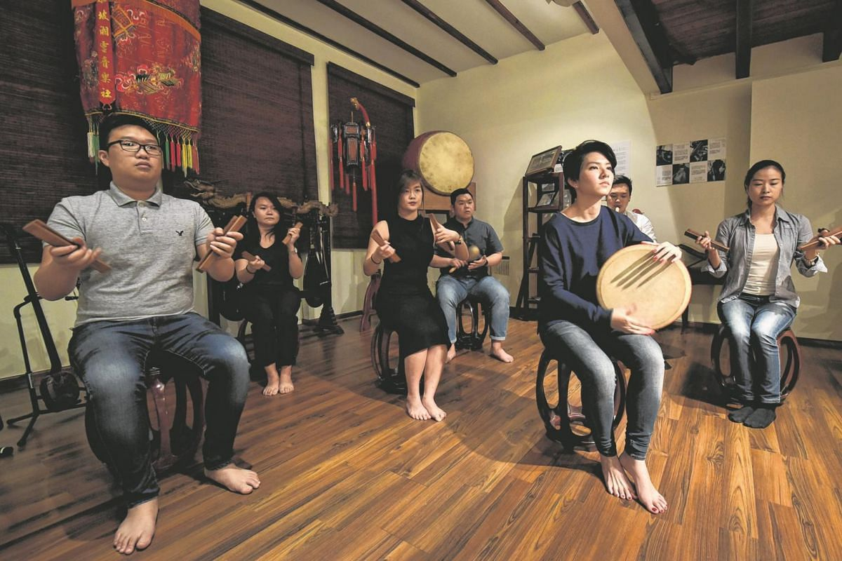 Classical Chinese musicians from the Siong Leng Musical Association will present a fusion brand of nanyin, a genre that dates back to the Han dynasty.