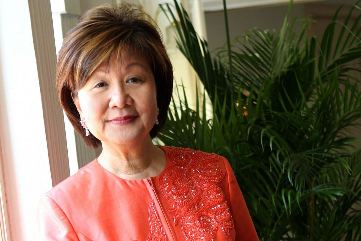 JENNIE CHUA, in her 70s, chairman Alexandra Health Systems.