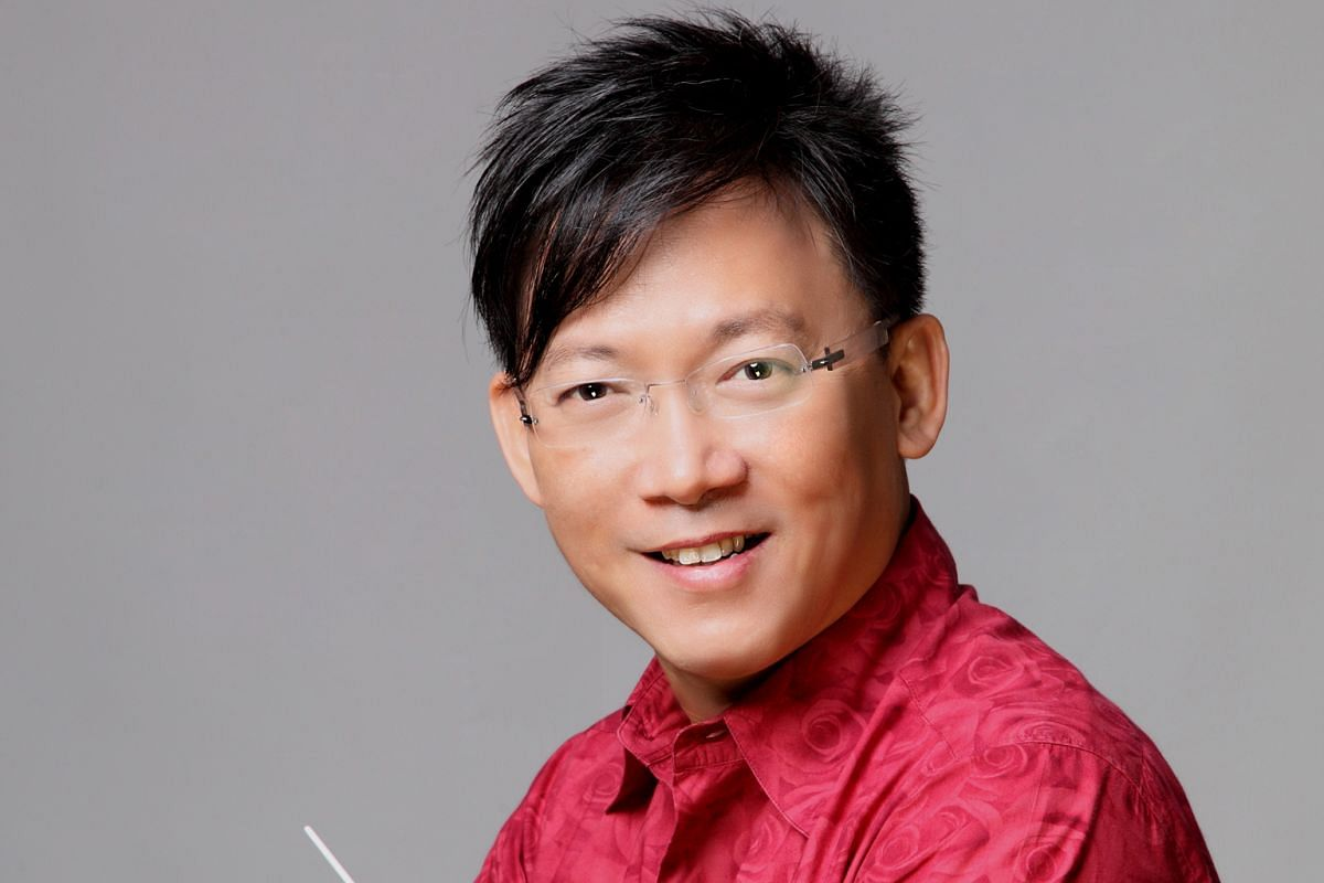 QUEK LING KIONG, 49, resident conductor of Singapore Chinese Orchestra and music director of Singapore Youth Chinese Orchestra.