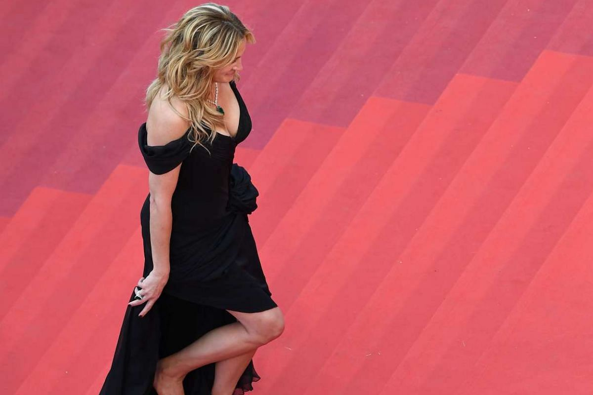 Actress Julia Roberts for the screening of the film Money Monster at the 69th Cannes Film Festival in Cannes, France, on May 12, 2016.