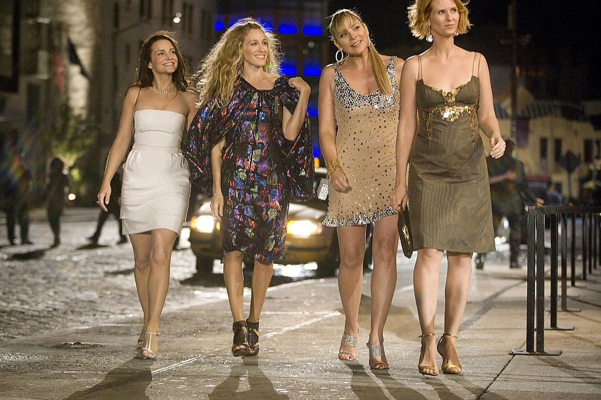 New York City is the last place attractive single women should look for love, says author Jon Birger. It is also the setting for Sex And The City (left), the hit television show about desperate glamorous single women.