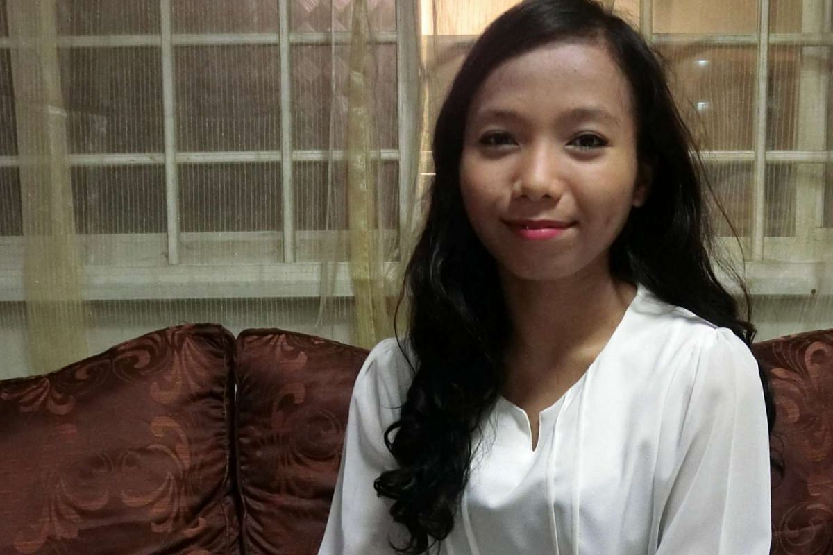Ms Nurul Jannah Buang (above) was diagnosed with Type 1 diabetes as a teen and had to grapple with eating less chocolates and fast food.