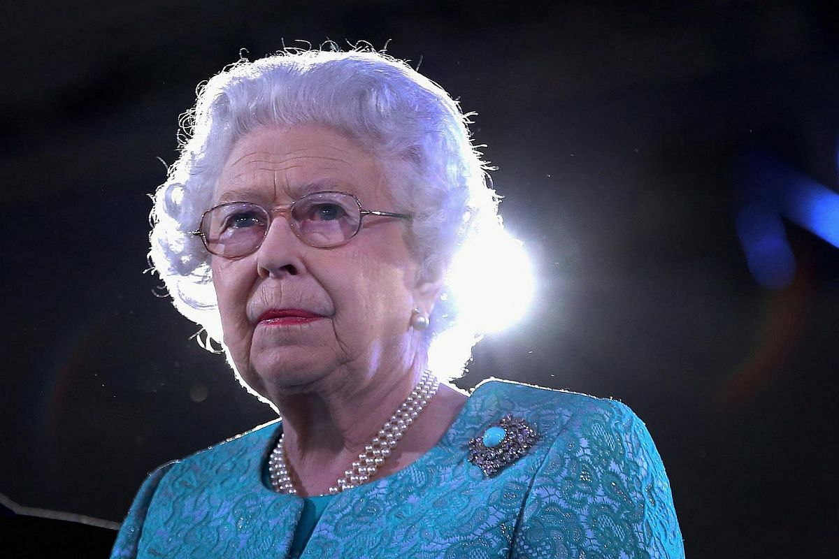 Queen Elizabeth II attends the final night of her 90th Birthday Celebrations at Windsor on May 15, 2016.