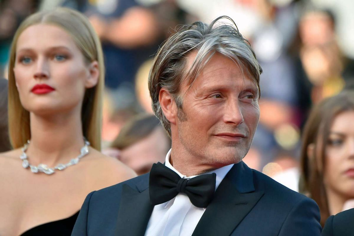 Danish actor and member of the Jury Mads Mikkelsen poses as he arrives for the screening of the film Loving.