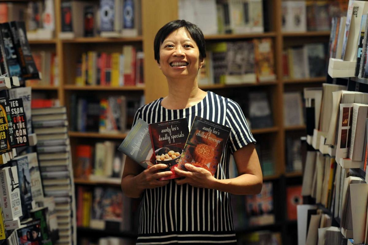 Author Ovidia Yu has two series being brought out by imprints overseas – the Aunty Lee detective series and Frangipani Tree mystery series.