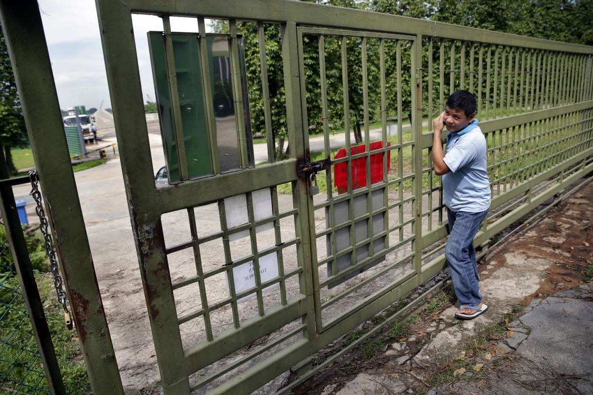 Although the sanctuary is not open to members of the public, Mr Rosendo Jacildo has seen concerned breeders and private visitors of the founder make their way in for a last look at the place, on May 13, 2016.