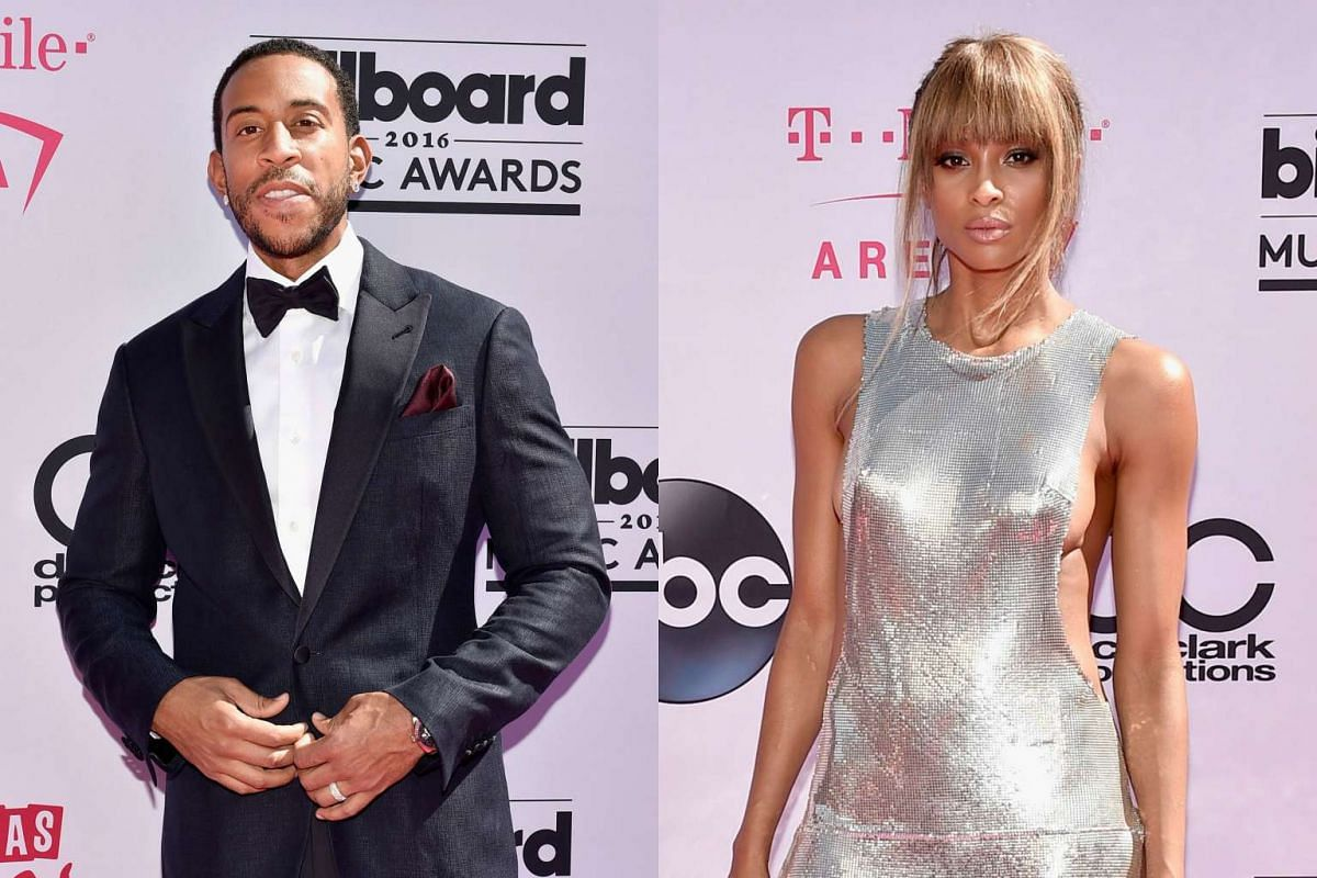 Hosts for the 2016 Billboard Music Awards, Ludacris (left) and Ciara.