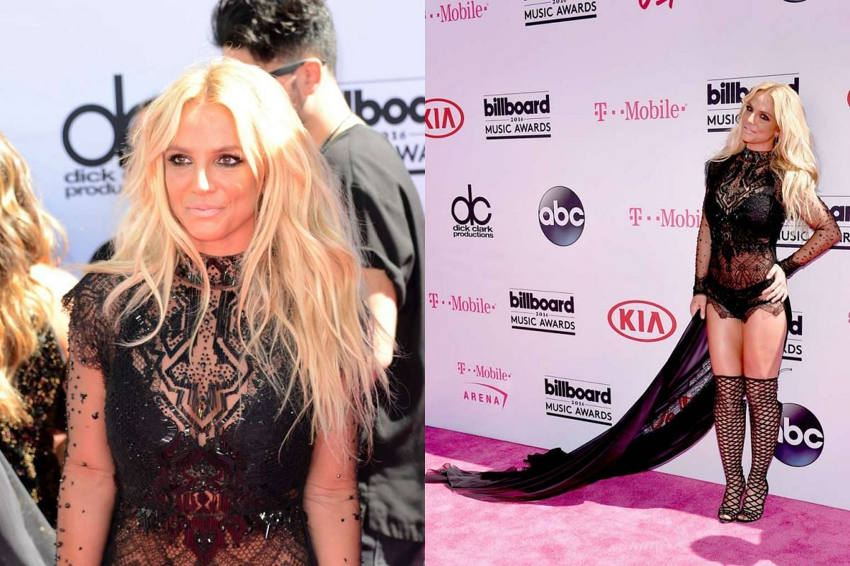 Britney Spears attends the 2016 Billboard Music Awards at the T-Mobile Arena in Las Vegas.