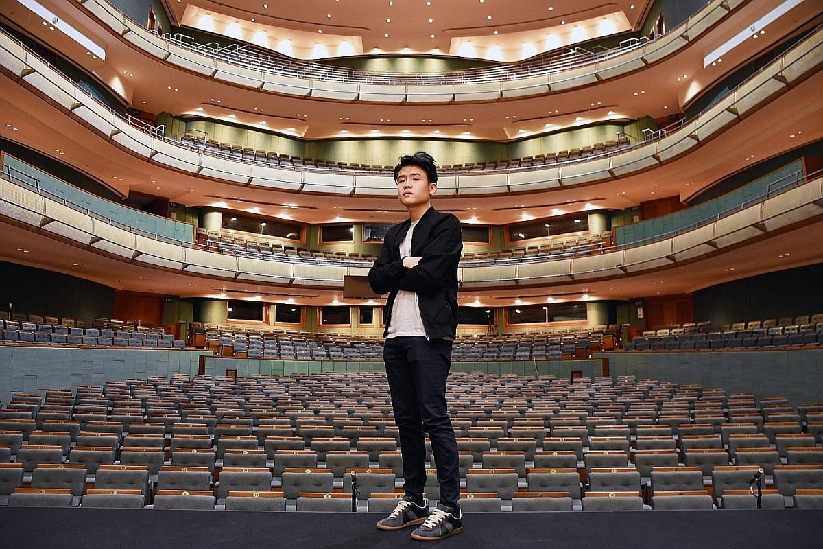 Joel Tan is close to selling out two nights of his first ticketed solo show at the Esplanade Concert Hall.