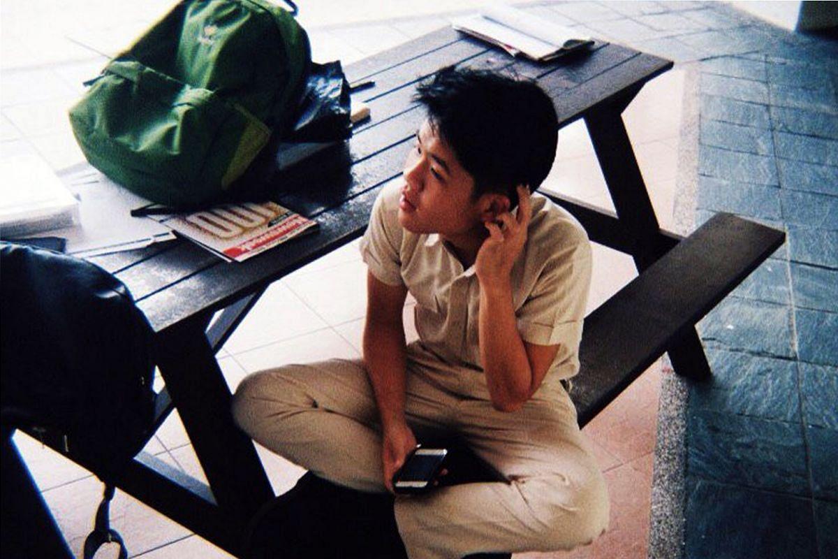 My life so far: Tan at Hwa Chong Institution at age 17.