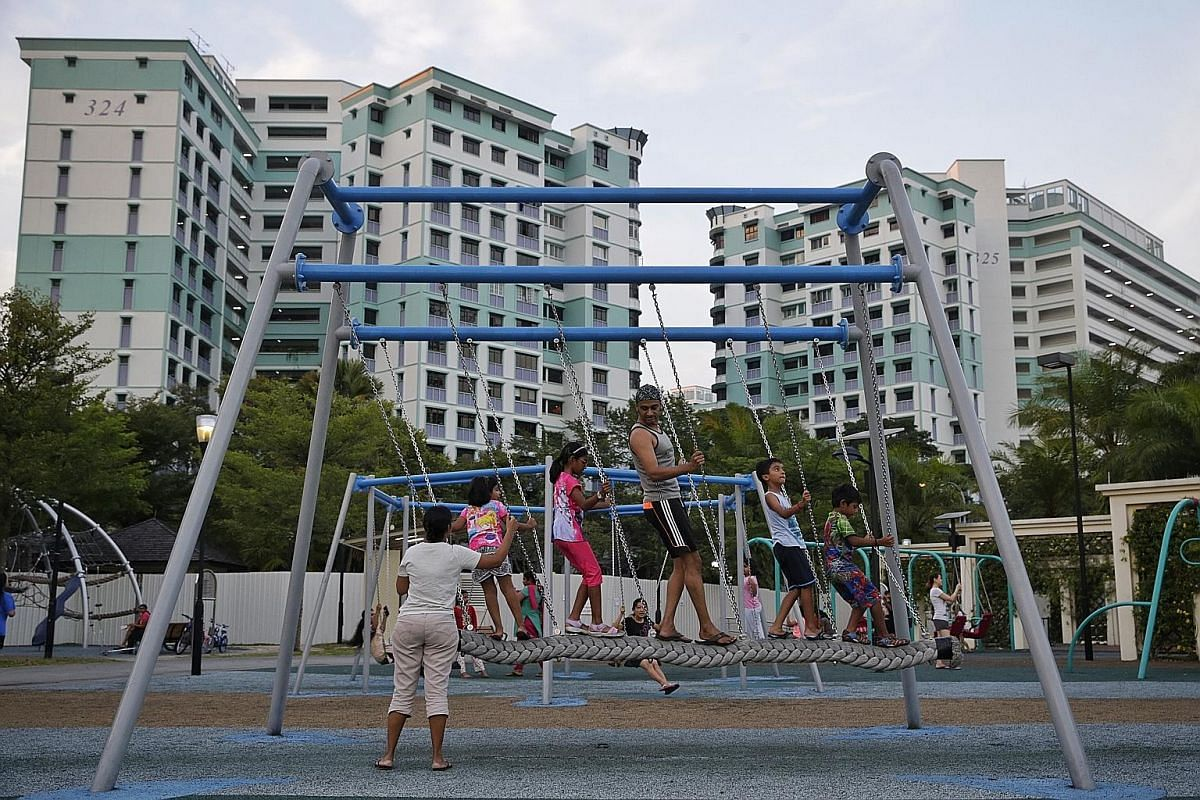 Jog, cycle or stroll along Sembawang Park Connector. Canberra Park was upgraded to the tune of $2.2 million and has a variety of swings.