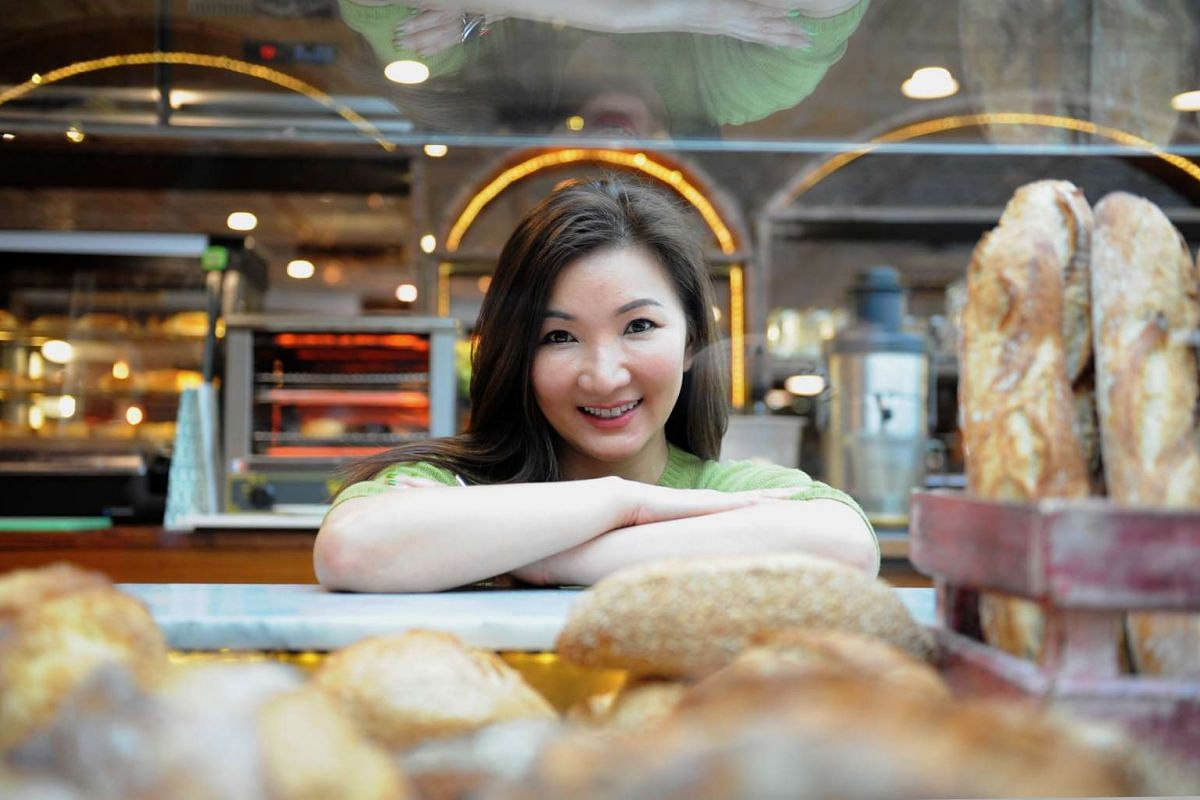 Cynthia Chua says the menus of her restaurants include a lot of what she loves.