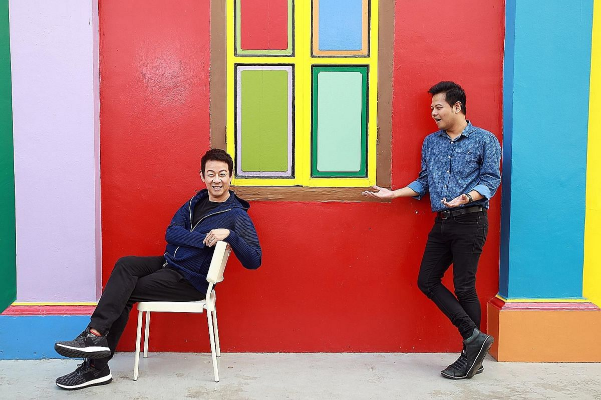 Singapore Theatre Festival dramaturg Alfian Sa'at (right) and director Ivan Heng are reviving bold plays exploring subcultures that they feel should be seen by more people.