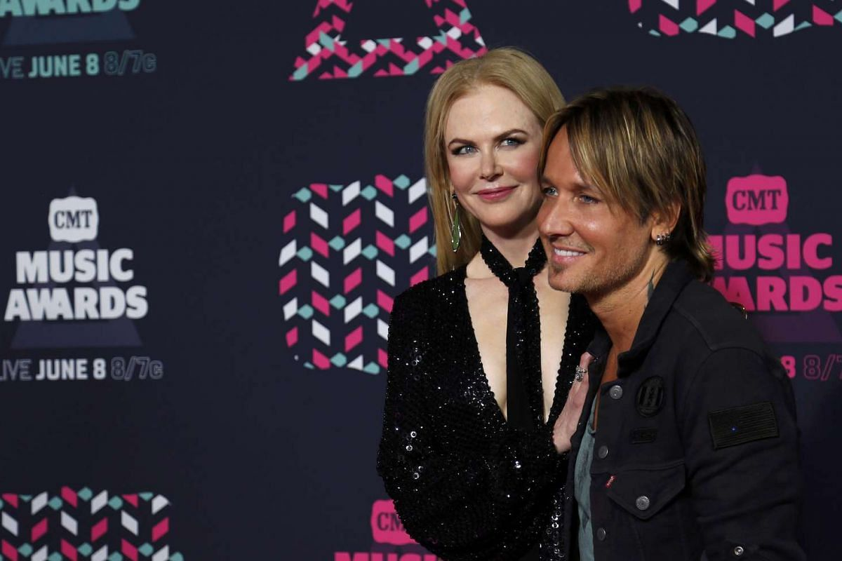 Actress Nicole Kidman and her husband, musician Keith Urban, arrive at the 2016 CMT Music Awards in Nashville, Tennessee US on June 8.