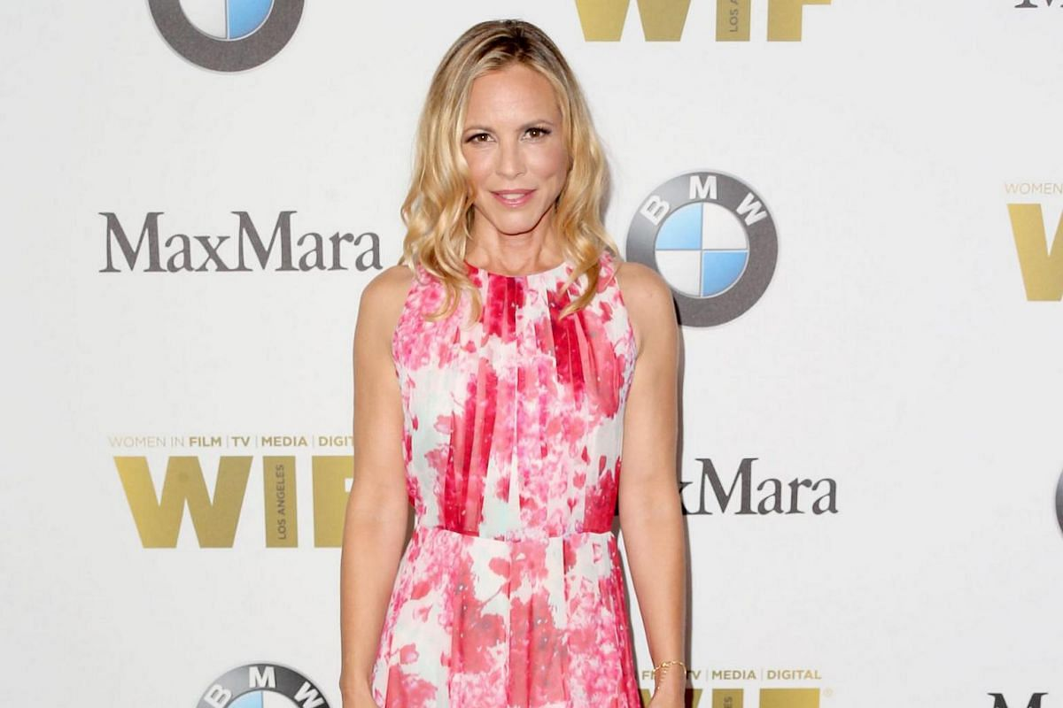 Actress Maria Bello attends Women In Film 2016 Crystal + Lucy Awards.