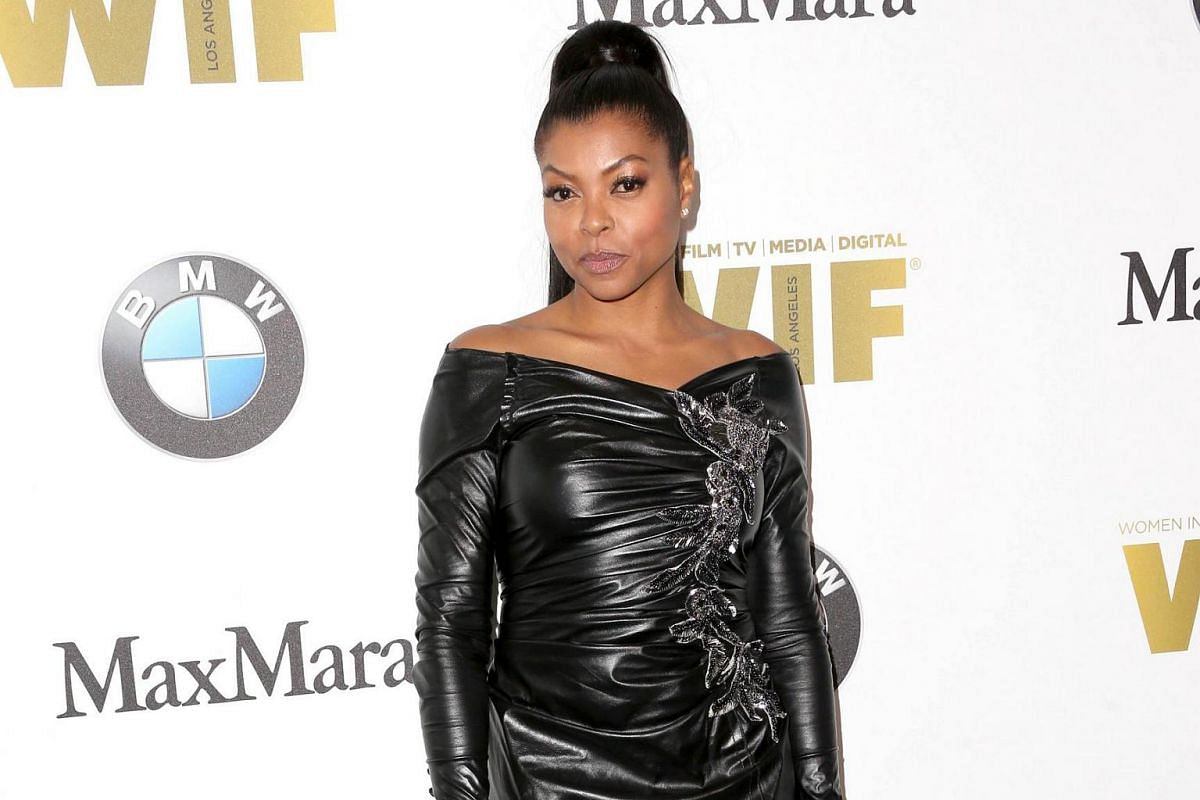 Empire star Taraji P. Henson received the Lucy Award for Excellence in Television.