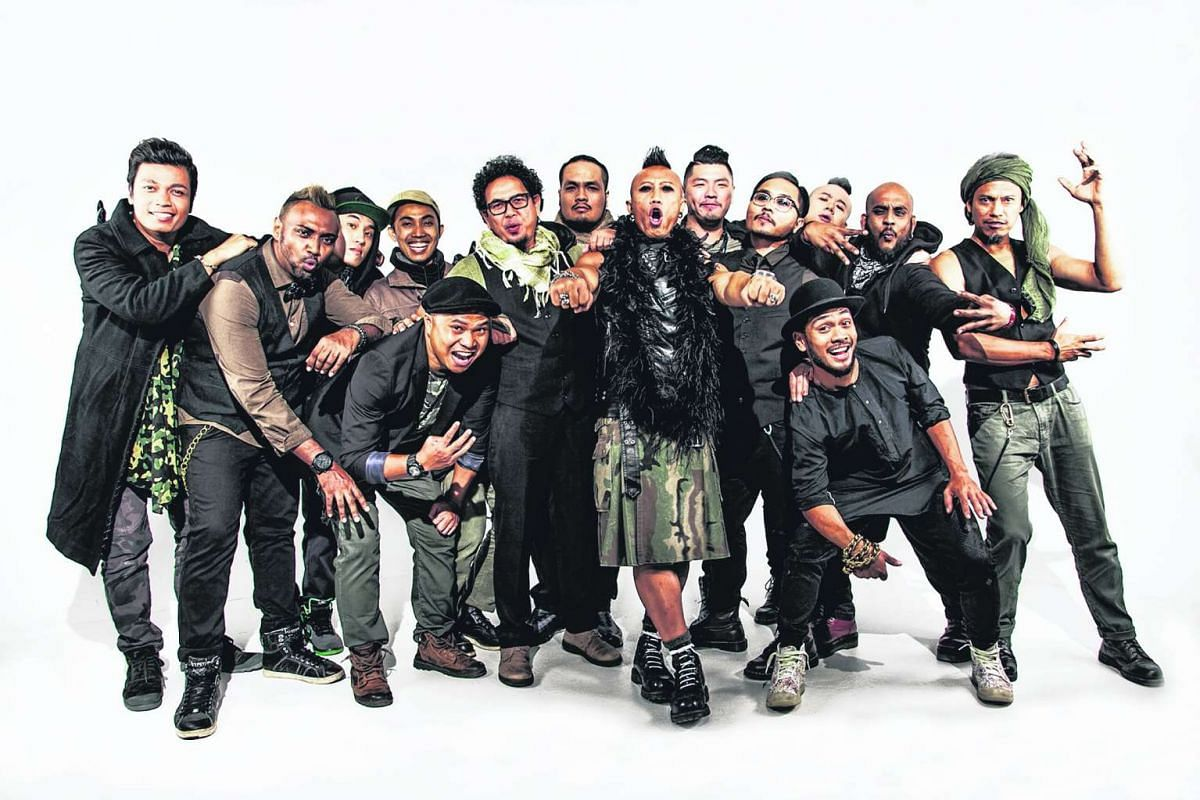 Percussion rock troupe Wicked Aura will be the closing act at the Powerhouse stage.