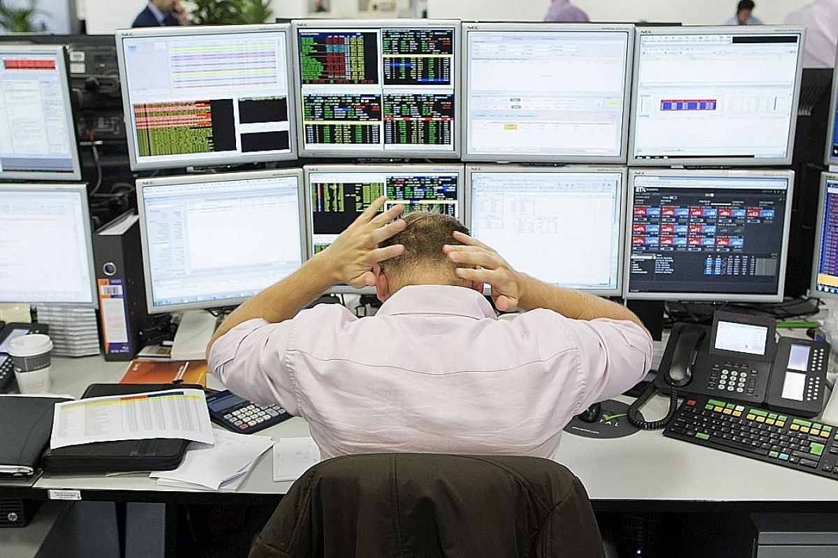A trader reacting as global markets buckled in the aftermath of the EU referendum in London last Friday. The usual stress over market gyrations is now coupled with unease over what the future will hold for the financial capital.