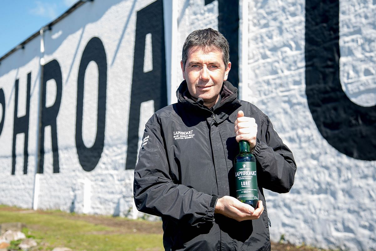 Laphroaig distillery manager John Campbell created Lore, a no age statement whisky.